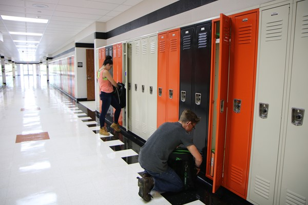 Organizing our lockers for success