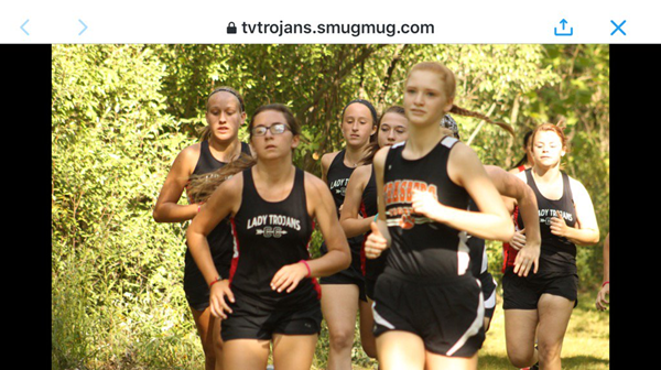 Jewell L. at Cross Country Meet